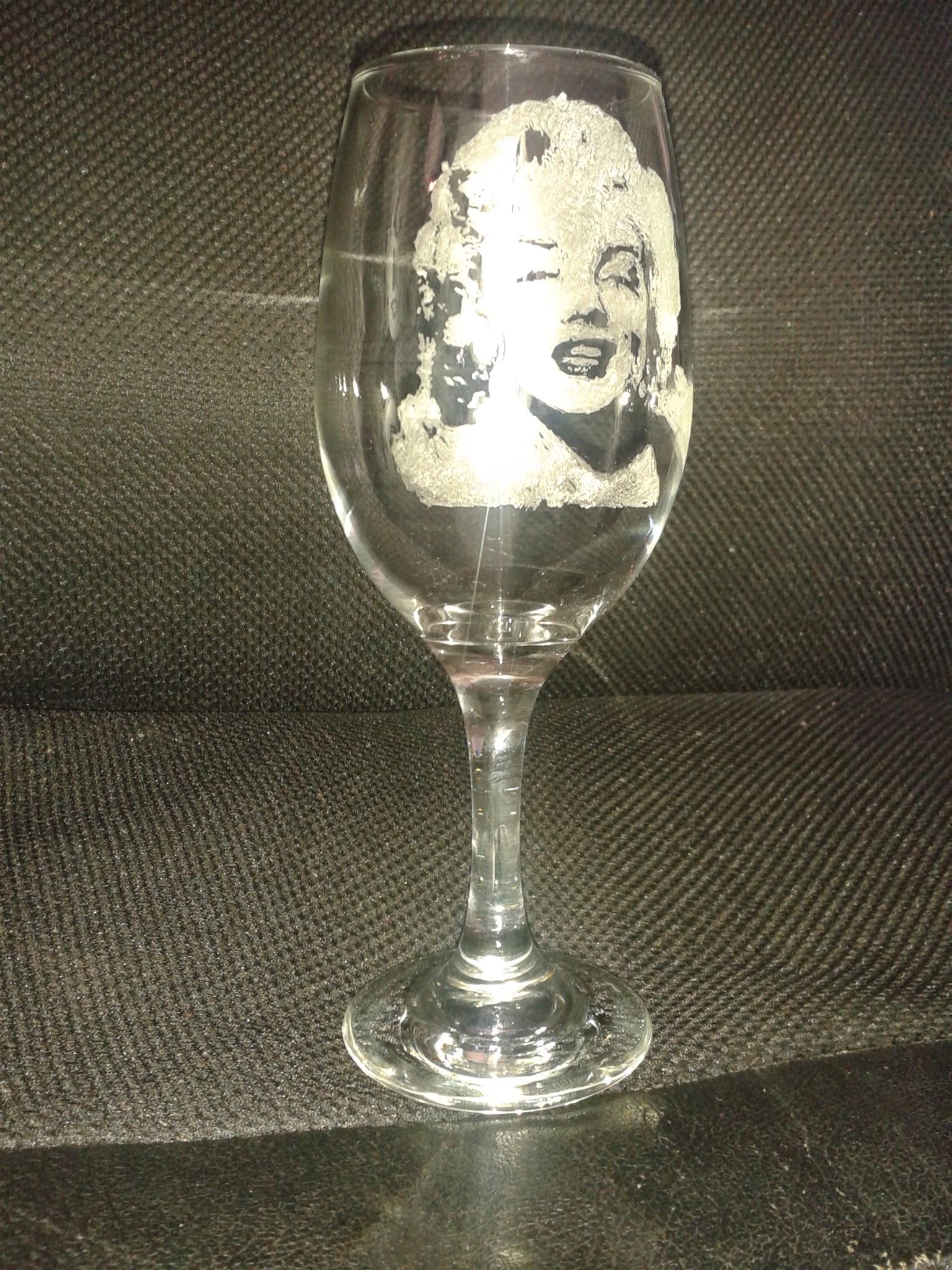 Glass engraving hobby, Glass engraving
