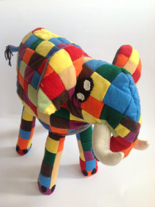 Elephant soft toy animal finaly finished