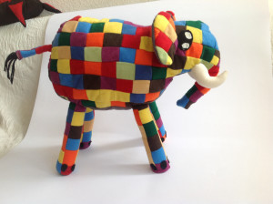 Elephant soft toy animal final product