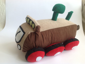 Soft toy train