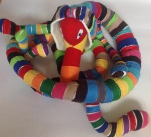 Stuffed dog animal