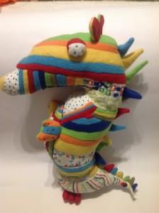 Plush dragon toy