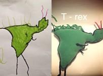 Dinosaur T - rex