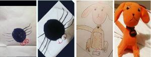 The Plush Spider Toy and Plush Dog Toy
