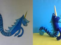 Plush horse toy